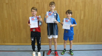 Die Tischtennis Mini-Meister 2016